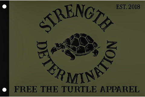 Strength & Determination Flag