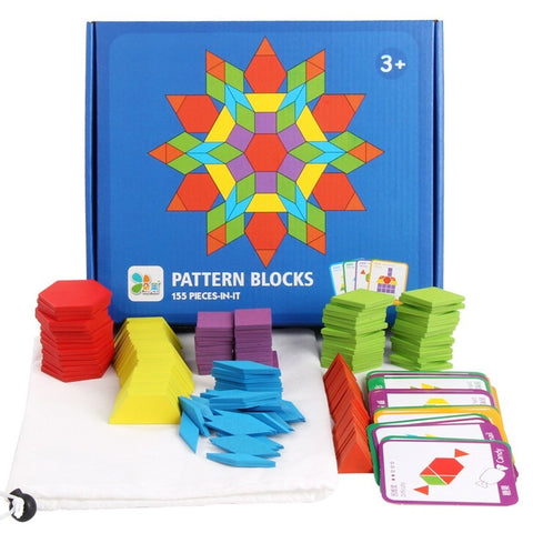 Brain Gain Pattern Blocks