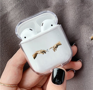 Coque pour Airpods art abstrait-YOUTHMOOD