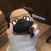 Charger l'image dans la galerie, Coque de protection airpods Bulldog-YOUTHMOOD