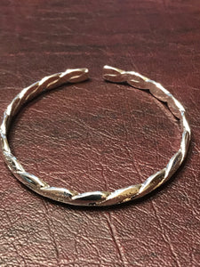 Sterling Silver Bangle - Mseljoy Accessories