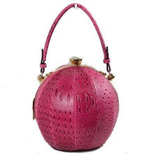 Leather Ball Bag - Mseljoy Accessories