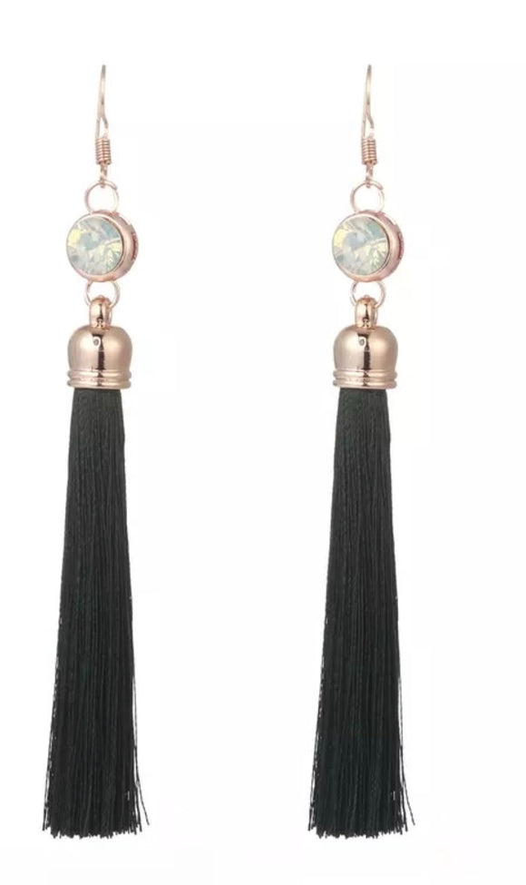 Long Tassel Earrings - Mseljoy Accessories