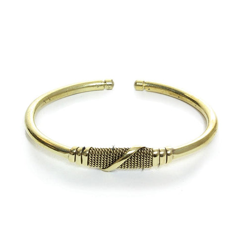 AF-Twisted Metal Bracelet - Mseljoy Accessories
