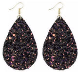 Rhinestone Tear Drop Earrings. - Mseljoy Accessories