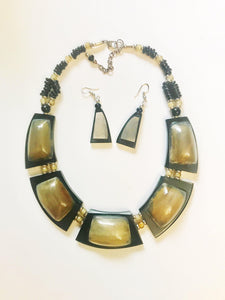 Quartz Beaded Necklace Set
