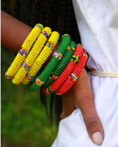 Kenya Beaded Bracelet - Mseljoy Accessories