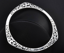 Sterling Silver Three-Pointed Bracelet - Mseljoy Accessories