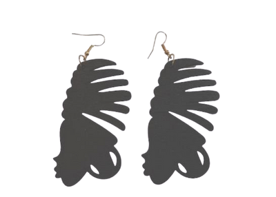 Crowned Head Earrings - Mseljoy Accessories