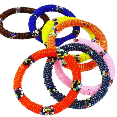 Maasai Beaded Bracelet from Kenya - Mseljoy Accessories