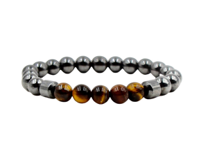 Tiger's Eye Natural Stone Bracelet - Mseljoy Accessories