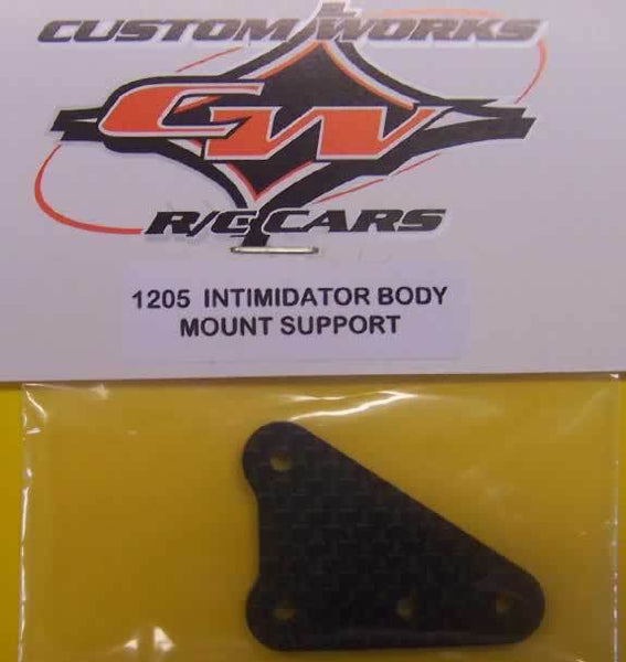 1205 Custom Works Intimidator Body Mount Support