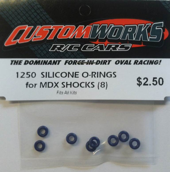 1250 Custom Works Silicone O Rings