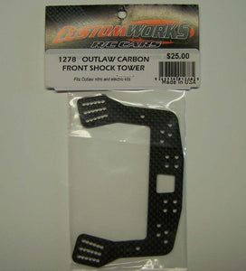 1278 Custom Works Outlaw Carbon Front Shock Tower
