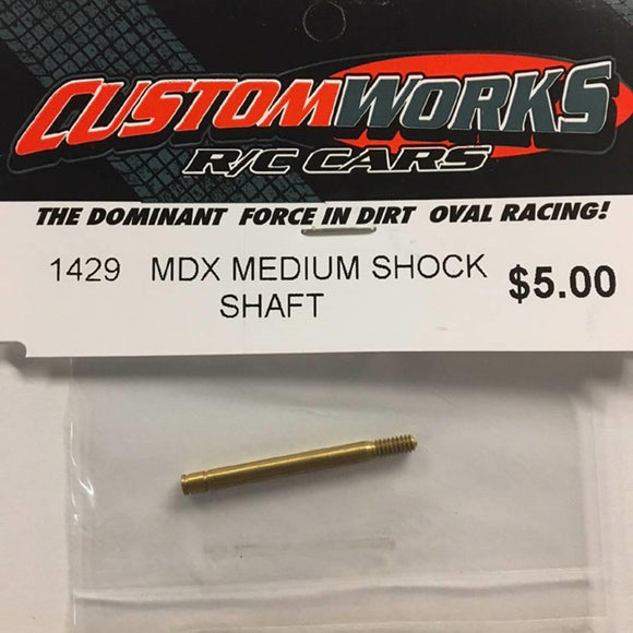 1429 Custom Works MDX Medium Shock Shaft