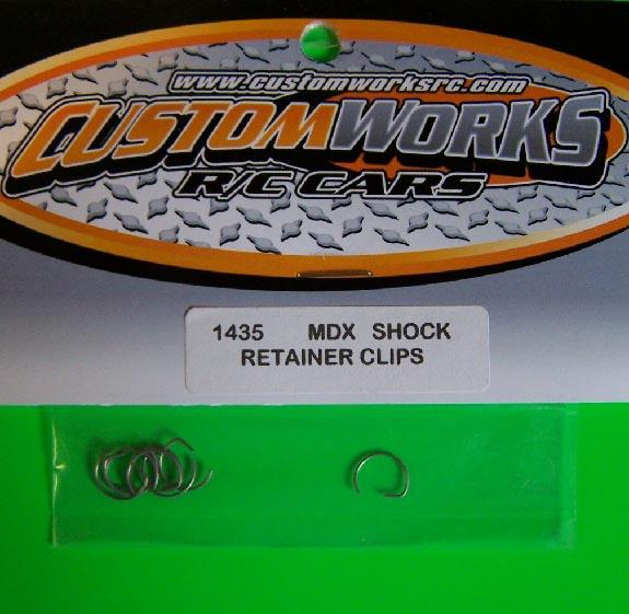 1435 Custom Works MDX Shock Retainer Clips