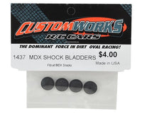 1437 Custom Works MDX Shock Bladders