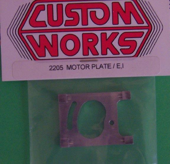 2205 Custom Works Enforcer/Intimidator Direct Drive Motor Plate