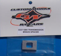 2227 Custom Works GBX Transmission Spacer Brace