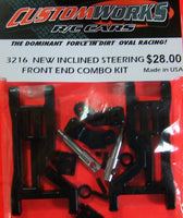 3216 Custom Works New Inclined Steering Front End Combo Kit