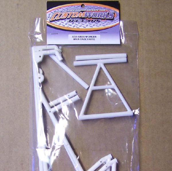 3235 Custom Works Main Cage Parts for Enforcer / Outlaw Sprint Cars