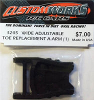 3245 Custom Works Wide Adjustable Toe Replacement A-Arm