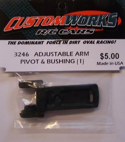3246 Custom Works Adjustable Arm Pivot and Bushing