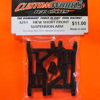 3251 Custom Works New Short Front Suspension Arms