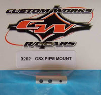 3262 Custom Works Enforcer Intimidator GSX Pipe Mount
