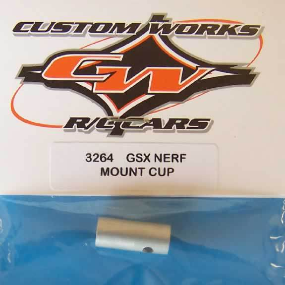 3264 Custom Works Enforcer GSX Nerf Bar Mount Cup