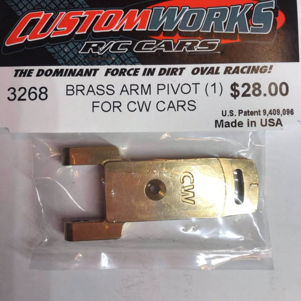 3268 Custom Works Brass Outer Pivot for CW Arm