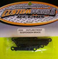 3332 Custom Works Outlaw Front Suspension Mount Braces