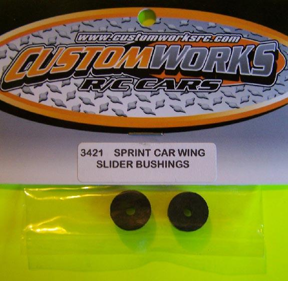 3421 Custom Works Sprint Car Wing Slide Bushings