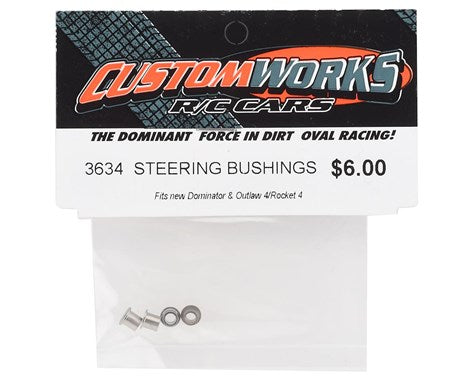 3634 Custom Works Outlaw 4 Steering Bushings