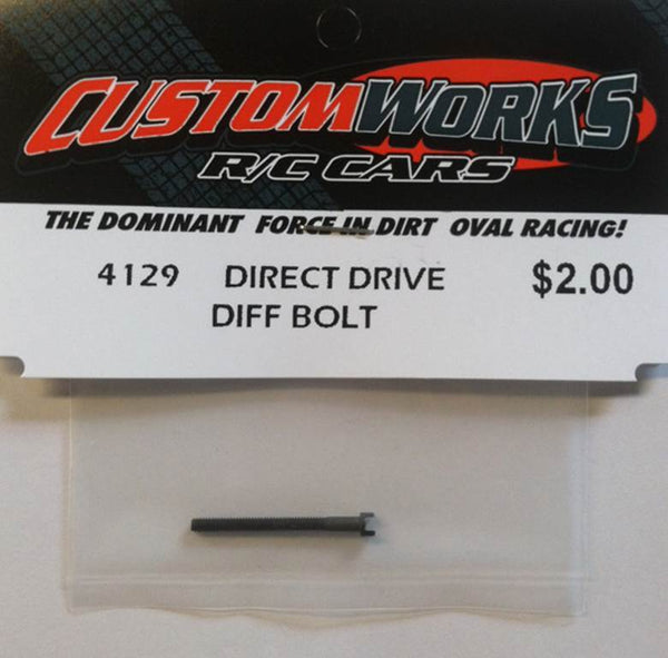 4129 Custom Works Direct Drive Diff Bolt