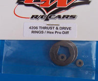 4206 Custom Works   Thrust and Drive Rings