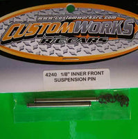 "4240  Custom Works 1/8"" Inner Front Suspension Pins"