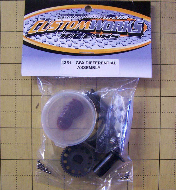 4351  Custom Works  Differential Assembly