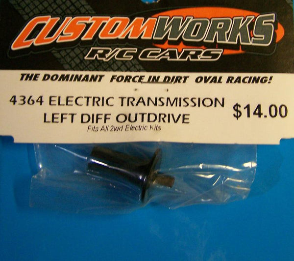 4364 Custom Works Left Diff Outdrive Hub