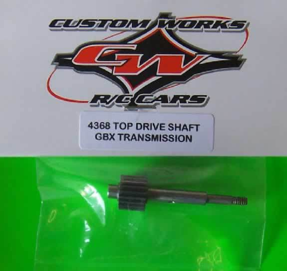 4368 Custom Works Top Drive Shaft