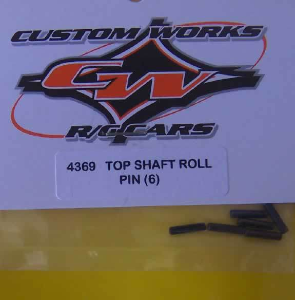 4369 Custom Works Top Shaft Roll Pin