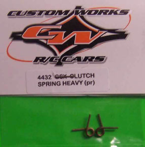 4432 Custom Works  Clutch Springs Heavy