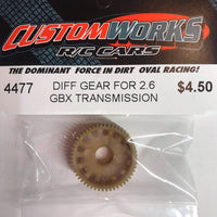 4477 Custom Works 2.6 GBX Diff Gear
