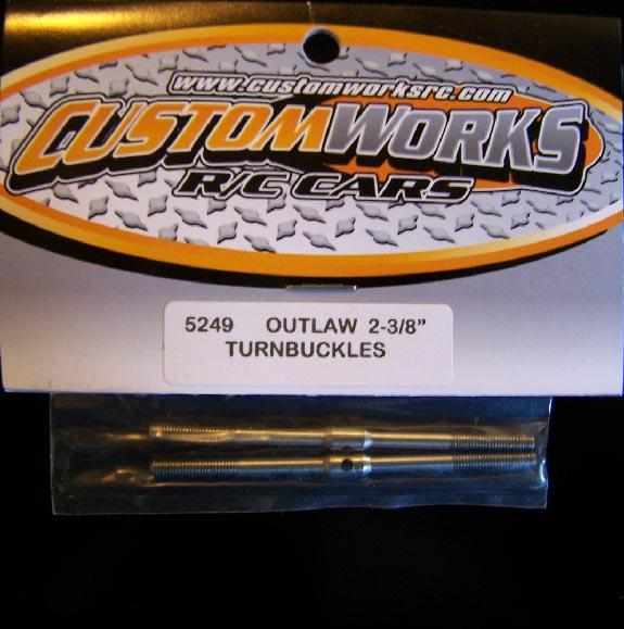 5249 Custom Works  Steel Turnbuckles