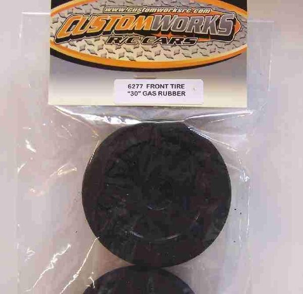 6277 Custom Works Mounted Front Tires