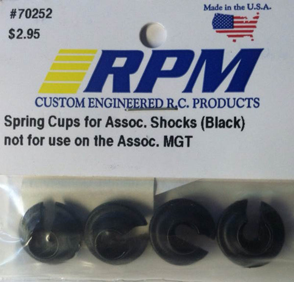 70252 RPM Spring Cups for RC10