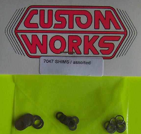 7047 Custom Works Assorted Shims