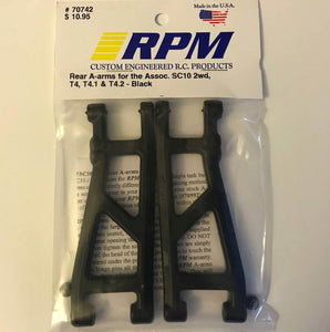 70742 RPM Rear A-Arms Black
