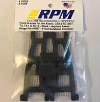 70762 RPM Front Bulkead and A-Arms Black