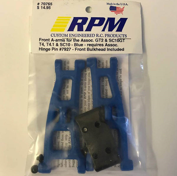 70765  RPM Front A-Arms Blue